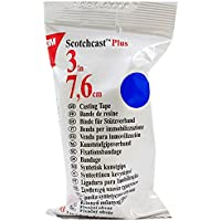 "3m 82003B ScotchCast Plus Casting Tape 3"" x 4 Yards - Blue - 1 Roll"