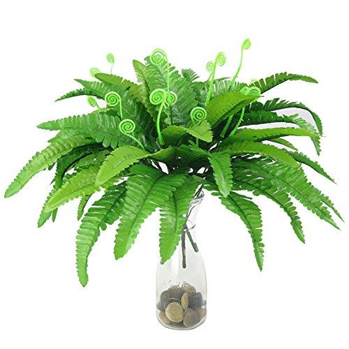 Gracorgzjs Künstliche Blattpflanze Persische Gras Farn Home Office Garten Hochzeit Decor Multi