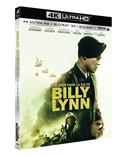 Un jour dans la vie de Billy Lynn [4K Ultra HD + Blu-ray 3D + Blu-ray + Digital UltraViolet]