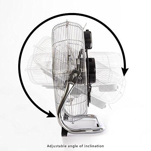 AEG VL 5606 WM N Metall-Windmaschine, 40 cm Durchmesser, 3 Laufgeschwindigkeiten, Neigungswinkel verstellbar