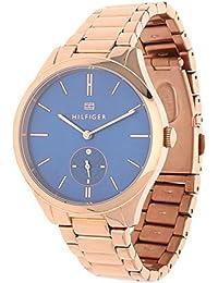 Tommy Hilfiger 1781579 - Reloj de pulsera Mujer, Acero inoxidable
