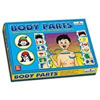 Creative Educational Pre-School Body Parts