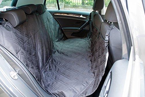 Dog Car Seat Cover Set, Waterproof, Non-Slip Hammock with Storage Pocket, 2 x Bowls, 2 x Pet Seat Belts, Adjustable… 2
