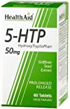 HealthAid 5-HTP 50mg - Prolong Release Griffonia Seed Extract - 60 Vegetarian Tablets
