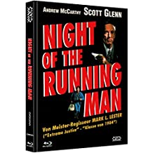 Night of the running Man - uncut (Blu-Ray+DVD) auf 333 limitiertes Mediabook Cover A