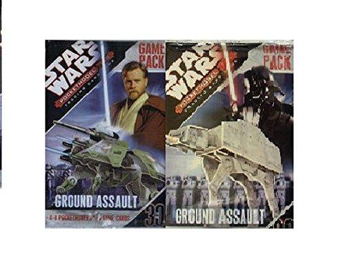 Star Wars Pocketmodel Ground Assault  Booster (englische Karten)