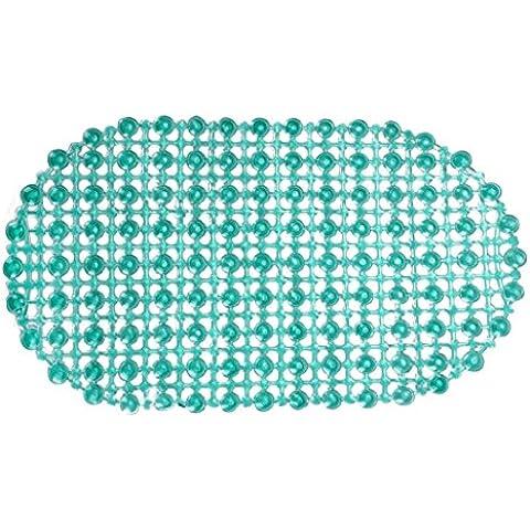 Culater® Pad In Gomma Antiscivolo Bagno Doccia Aspirazione Tappetino Da Bagno Antisdrucciolevole (Verde)