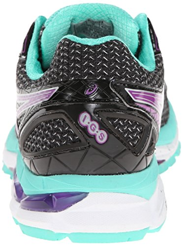 Asics GT-2000 3, Chaussures Multisport Outdoor Femmes Black/Purple/Emerald