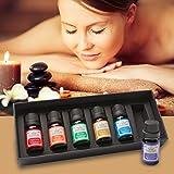 Best Salud y Bienestar Natural Aceites Aceites de menta - Kit básico de aromaterapia: aceites esenciales de alta Review