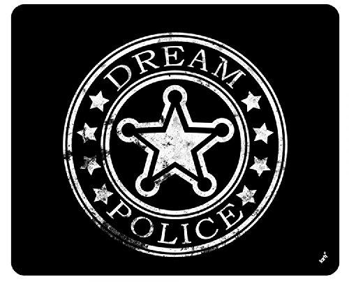 Preisvergleich Produktbild 1art1 93785 Abzeichen - Dream Police Sheriff-Stern Mauspad 23 x 19 cm