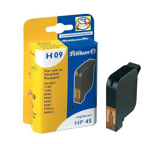 Pelikan H09 51645A Druckerpatrone (ersetzt HP 45), - 2600 Hp Drucker-tinte Series