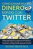 Cómo Ganar Mucho Dinero Rápido Con Twitter: Ideas Para Hacer Tus Negocios Rentables o Impulsar Tu Trabajo Desde Casa Por Internet