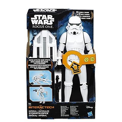 Star Wars Rogue One figurine interactive Force Tech Stormtrooper 30 cm *ALLEMAND* Hasbro Action figures