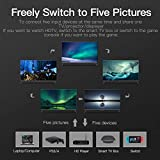 VENTION HDMI Switch, HDMI Splitter Switch 5 input 1 output HDMI Switcher 5X1 with IR Remote Control for XBOX 360 PS4/3 Smart Android HDTV 4K*2K 5 Port HDMI Adapter