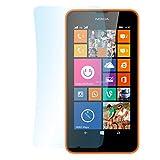 doupi 3X Ultrathin Pellicola Protettiva per Nokia Lumia 630 (4,5 Pollici), Crystal Super Clear Cristallo Protettore Lucido Schermo Protezione (3 in Pack)