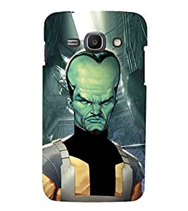 For Samsung Galaxy Ace 3 :: Samsung Galaxy Ace 3 S7272 Duos :: Samsung Galaxy Ace 3 3G S7270 :: Samsung Galaxy Ace 3 Lte S7275 cartoon, dangerous man, dangerous cartoon Designer Printed High Quality Smooth Matte Protective Mobile Case Back Pouch Cover by APEX