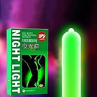 Preservativos  sisit 7pcs Luz de noche adulto preservativo preservativo luminoso 3pcs Lueur + 4pcs pas Lueur, multicolor, Comme montré