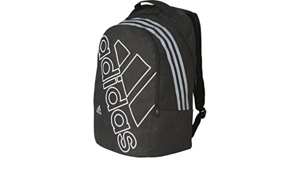 13eddbcb3aad Precious Adidas SMU Logo Backpack - Black and Grey with accompanying  Foldable Drinks Bottle  Amazon.co.uk  Sports   Outdoors