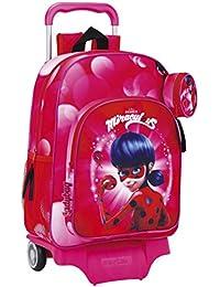 Ladybug 611712160 Marinette - Mochila Infantil, 50 cm, Rosa