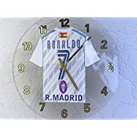 6906377fae3 CRISTIANO RONALDO - REAL MADRID C.F. FOOTBALL SHIRT CLOCK - FOOTBALL  LEGENDS LIMITED EDITION