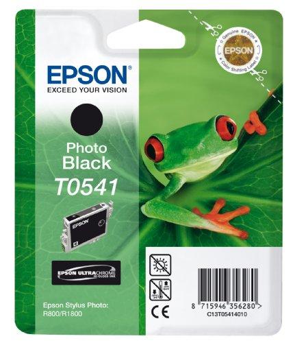 Preisvergleich Produktbild Epson T0541 Tintenpatrone Frosch, Singlepack Foto schwarz
