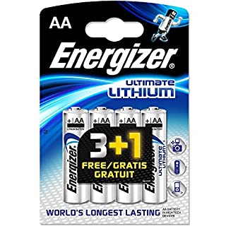 All Trade Direct 8 X Energizer Aa Lithium Batteries Digital Camera Lr6 L91 Long Life Expiry 2025
