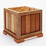 Terra Flame 700953164551 Cape Cod Collection Laterne, Teak Holz