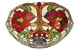 Rose Tiffany Pendant