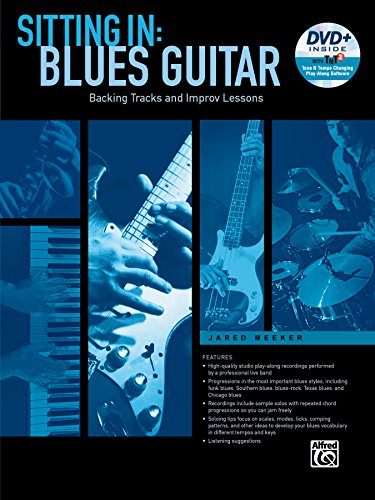 Sitting In: Blues Guitar - Backing Tracks and Improv Lessons (incl. DVD) (Alfred-gitarre Dvd)