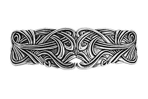 Art Nouveau Swirl Pince à Cheveux   Barrette en Métal