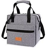 Lifewit 10L Insulated Lunch Box Bag for Adults Kids Men Women, 3-Way Carrying