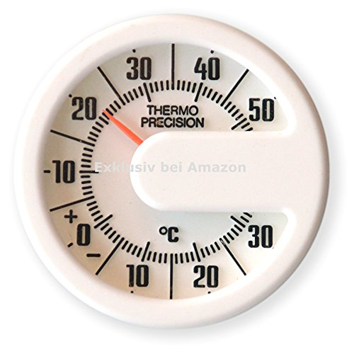 Historisches rundes Auto KFZ Thermometer von Richter HR Art. 469577