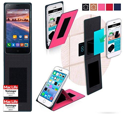 reboon Hülle für Siswoo Cooper i7 Tasche Cover Case Bumper | Pink | Testsieger