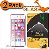 [Pack da 2] Jasinber Pellicola Protettiva in Vetro Temperato per iPod Touch 6G & 5G