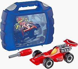 Theo Klein-8013 Hot Wheels Maletin Grand Prix, Juguete, Multicolor (8013)