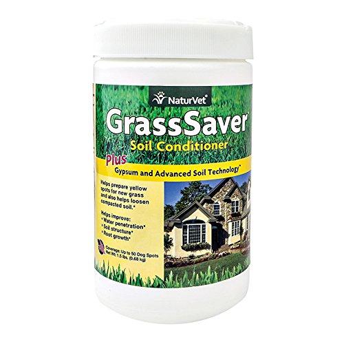 NaturVet 79903432 GrassSaver Gypsum Soil Conditioner Jar, 1.5 oz by NaturVet - Conditioner Jar