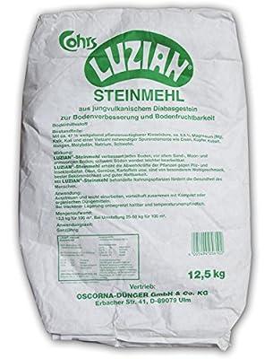 Oscorna Luzian-Steinmehl, 12,5 kg von Oscorna bei Du und dein Garten