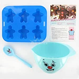Blue Childrens Baking Set