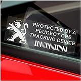 5 x PEUGEOT dispositif de repérage GPS de fenetre 87 x 30 mm - 108,208,308,508,106,206,207, voiture, Van alarme Tracker