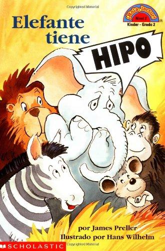 Elefante Tiene Hipo/Hiccups for Elephant (Hola, Lector!, Nivel 2) por James Preller