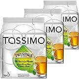 Tassimo Twinings Té verde y Menta, Paquete de 3, 3 x 16 T-Discs