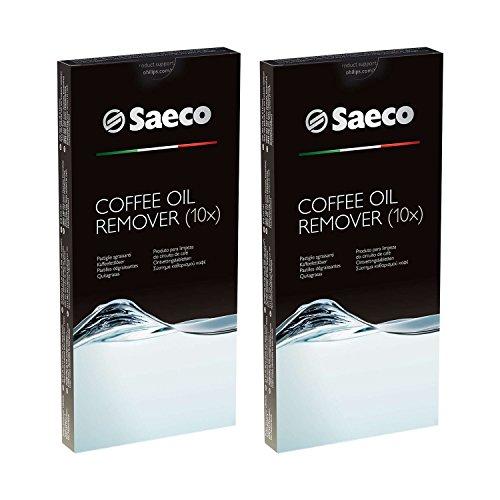 2x 10 Tabletten Philips Saeco RI9125/24 Kaffeefettlöser Coffee Clean (Espressomaschine Beste)