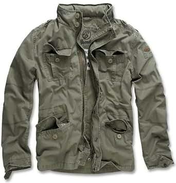 Brandit Men's Britannia Jacke Jacket,oliv,S