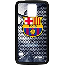 FC Barcelona Cool Design Samsung Galaxy S5 Cell Phone Cases Cover Popular Gifts(Laster Technology)