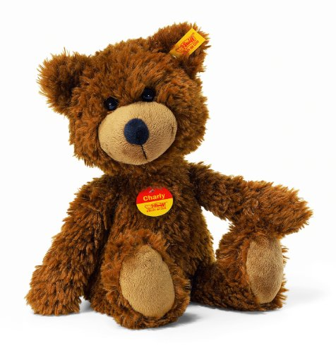 Steiff-16cm-Charly-Dangling-Teddy-Bear-Brown