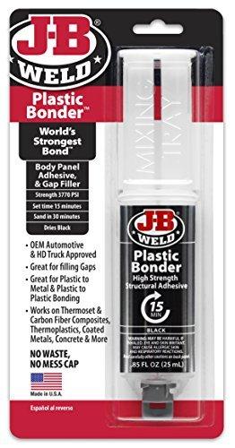 j-b-weld-50139-plastic-bonder-body-panel-adhesive-and-gap-filler-syringe-dries-black-25-ml-by-j-b-we