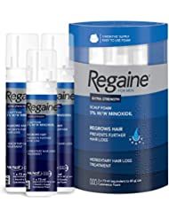 Regaine for Men Hair Loss & Regrowth Scalp Foam Treatment with Minoxidil, 73 ml, 3 Month Supply