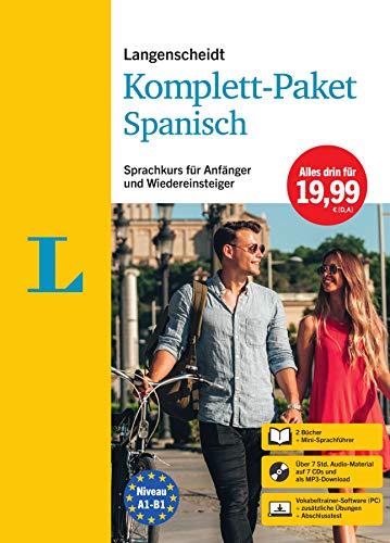 Langenscheidt Komplett-Paket Spanisch: Sprachkurs für Einsteiger und Fortgeschrittene -