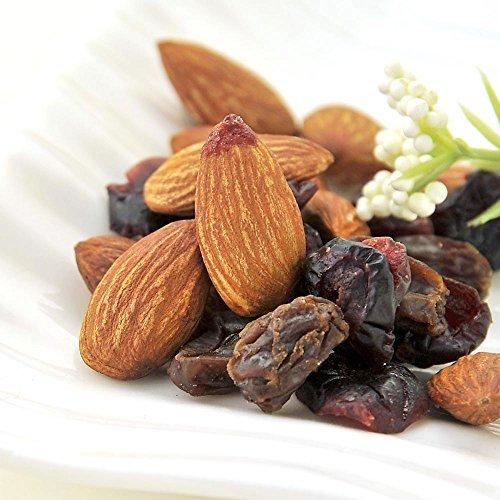 La bellezza e la salute mix noci mandorle, uva passa ultimi organici, mirtilli value pack 1kg (2X500g)