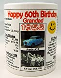 Best Birthday Gifts For All Birthday Gift For Dads - 60TH BIRTHDAY MUG - THE YEAR YOU WERE Review
